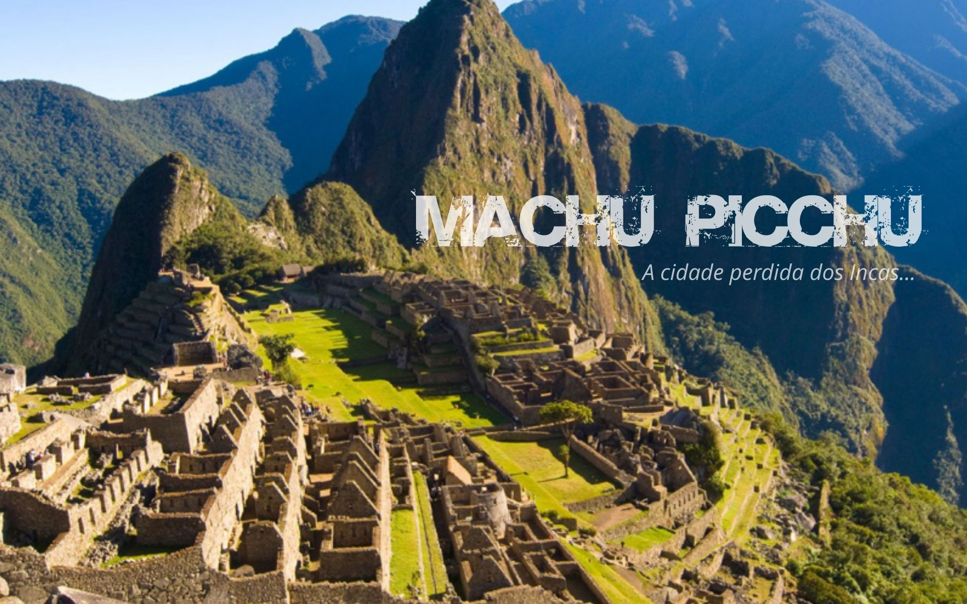 banner machu pichu